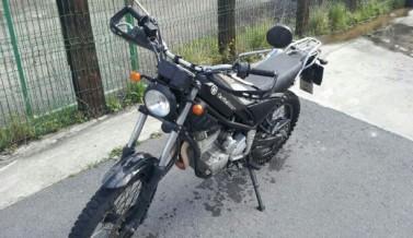 Motocicleta para practicas