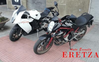 Carné de moto A o A2